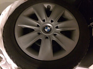 BMW Winter tires and steel rims