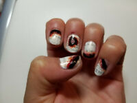 halloween - nails painting
