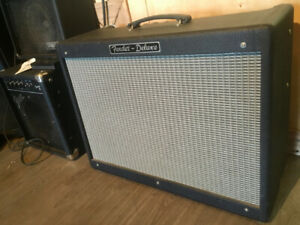 2009 Fender Hot Rod Deluxe 1x12 Combo Tube Amp w/ Foot Switch