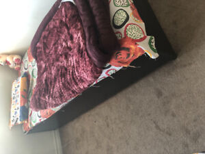 Box bed with matress for sale