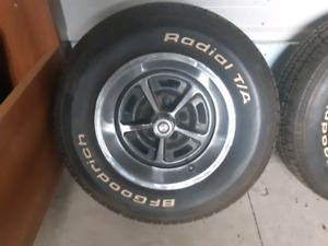 Magnum  500 wheels and  tires