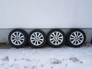 5x100 Alloy Rims & Winter tires