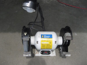 Bench Grinder with Light 3/4 horse