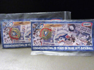 TWO 1985 BLUE JAYS AMERICAN LEAGUE EAST CHAMPIONS PIN