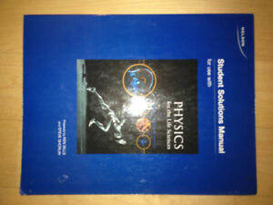 Student Solutions Manual- Physics Life Sciences