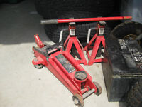 Hydraulic Jack with Stands