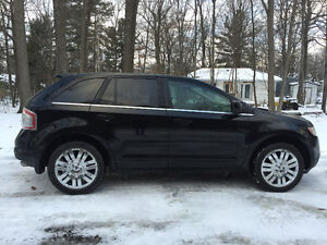 2008 Ford Edge Limited *DVD/CUIR/TOIT/DÉMARREUR*