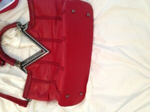 Hot red Purse