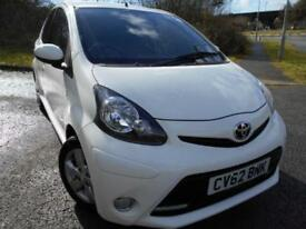 2012 62 TOYOTA AYGO 1.0 VVT-I FIRE 5D 67 BHP ** POUND;0 ROAD TAX VEHICLE