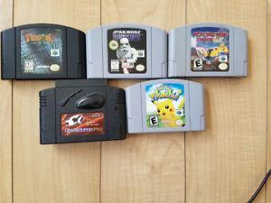 N64 games $15 each