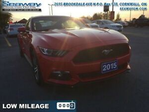 2015 Ford Mustang EcoBoost Fastback  - Bluetooth -  SYNC - $188.