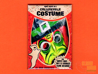 Collegeville witch vintage costume box art 2x3