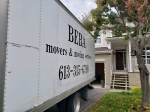 Movers and moving services.**Rates Included below **