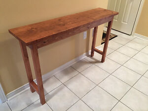 Reclaimed Wood Serving Table/Console Table
