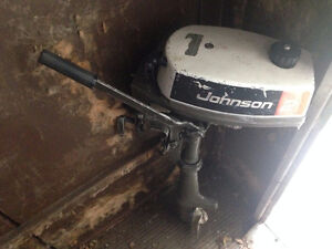 2 hp Johnson outboard