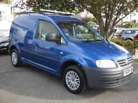 2009/09 Volkswagen Caddy C20 1.9TDI PD 104bhp Panel Van, NO VAT Superb condition