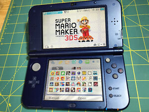New Nintendo 3DS XL Galaxy 11.3 Hacked 128g SD - 100's of games!