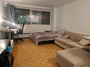 Studio with Best Views of Montreal, Utilities Included
