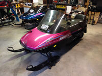 1991 Ski-Doo Safari LE, ready to ride