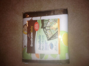 Brand new never used Breathable mesh crib liner