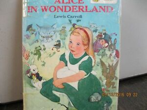1955    ALICE IN WONDERLAND  AND      PETER PAN 2 SIDE   BOOK