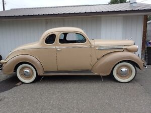 1937 Dodge 2 Dr. Business Coupe 6 Cly-Standard Model D5