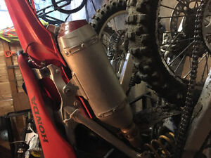 2006 crf250r built for off-road racing