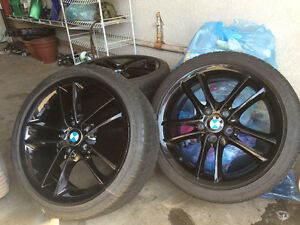 18' BMW Rims and Tires for 3 series