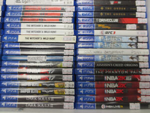 Large Selection Of Current And Past-Gen Video Games!