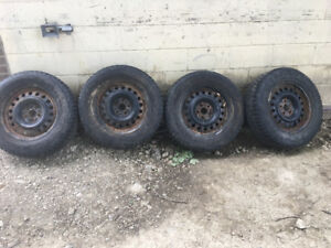 Tires and rims 245/65/R17