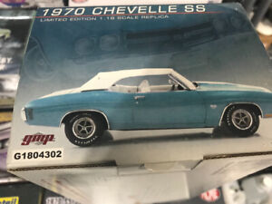 Chevrolet Chevelle ss convertible 1970 gmp diecast 1/18 Die cast