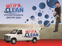 GET IT CLEAN - Professional Carpet & Upholstery Cleaning Service