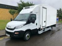 2017 Iveco Daily 7 ton fridge box side door tail-lift Temperature Controlled Die