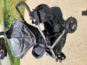 Britax B ready stroller and accessories