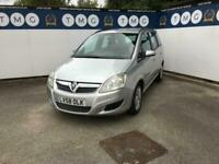 2008 Vauxhall Zafira 1.6i Exclusiv 5dr **7 SEATS** MPV Petrol Manual
