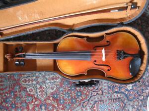 Viola - vintage Czec + bow + Lifton Case