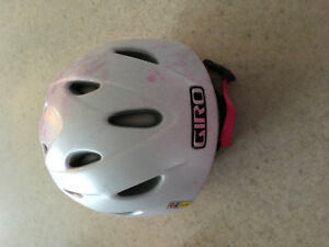 Girls- Youth Small helmet & goggles