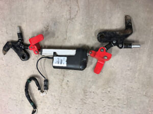 Electric Quick Attach system for skid steer