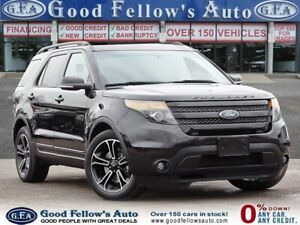 2015 Ford Explorer SPORT, 6CYL 3.5 LITER ECOBOOST, AWD, LEATHER