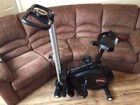 York 2 in 1 cycle/ rowing machine
