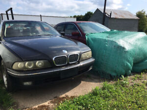 BMW 528i's for parts 1998 and 2000