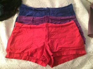 cotton shorts - L