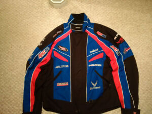 polaris racing jacket mens XL Reima with removable liner
