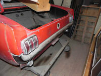 Restauration ford mustang convertible 6 cylindres