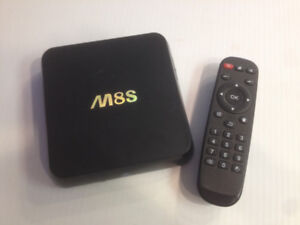 SOLD  --  M8S Android TV box  w remote