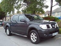 NISSAN NAVARA 2.5dCi OUTLAW 2007 COMPLETE WITH M.O.T AND WARRANTY