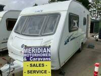 Ace Jubilee Globetrotter with motor mover, 4 berth 2008