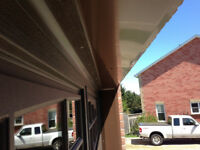 Garage door frame capping, as low as $150 cash, taxes included!!