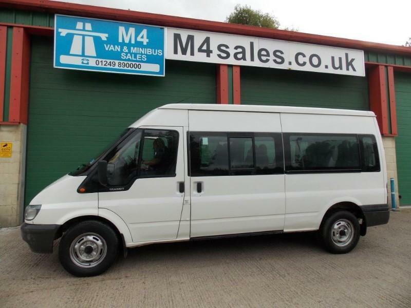 Ford Transit 350 15 Seat PSV Tested
