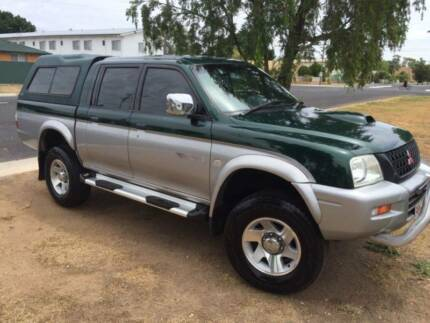 2003 Mitsubishi Triton Turbo Diesel Ute *FROM 55 PER WEEK